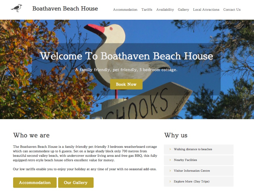 Visit Boathaven Beach House