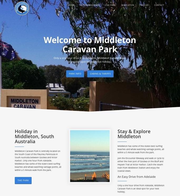 Visit Middleton Caravan Park