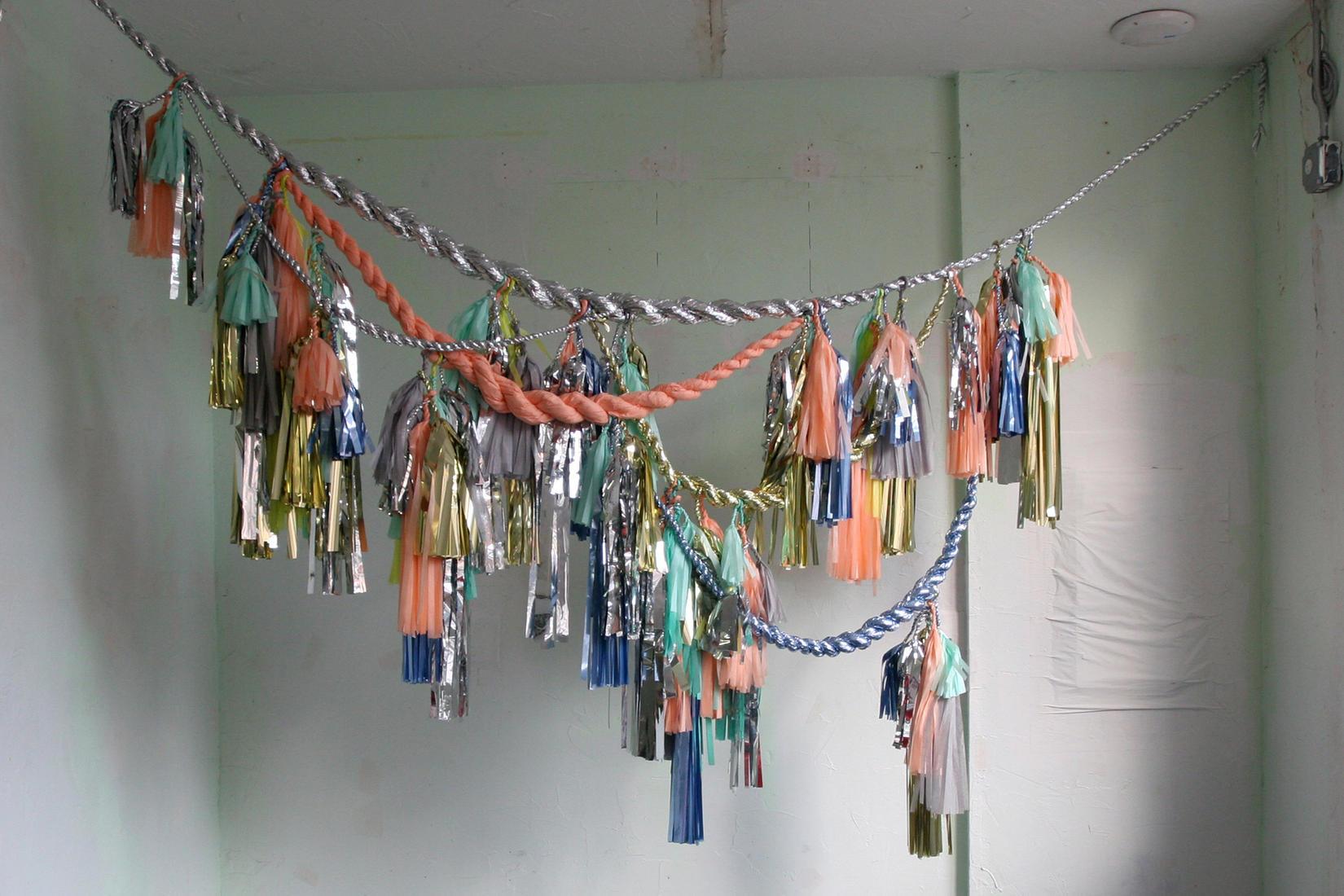 Festive Tasseled Garland by Confetti System