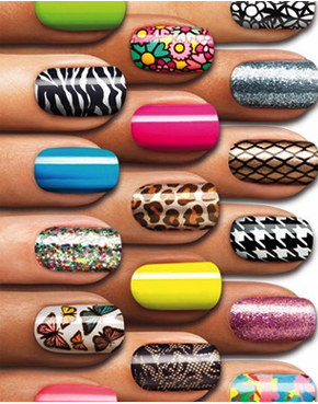 A  Rainbow of colour and pattern by Sally Hansen