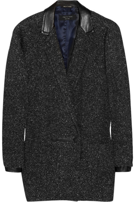 T he perfect menswear-inspired coat
