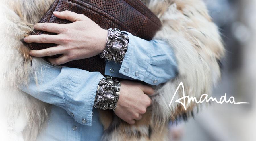 Amanda Brooks, Fashion Director at Barneys New York via Garance Dore