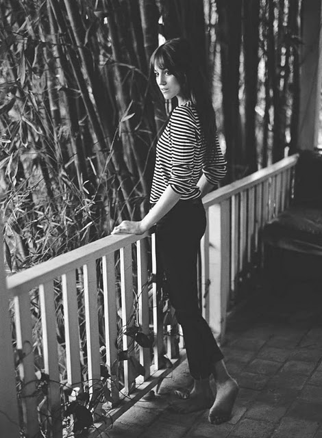 Charlotte Gainsbourg keeps it simple
