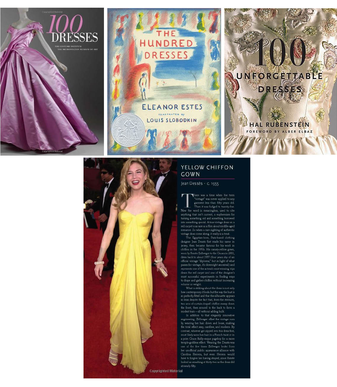 Reading List- 100 Dresses