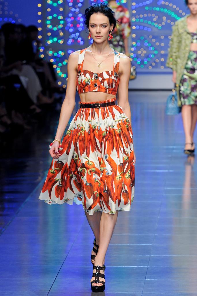 Dolce & Gabbana. S/S 12. Photo: Style.com