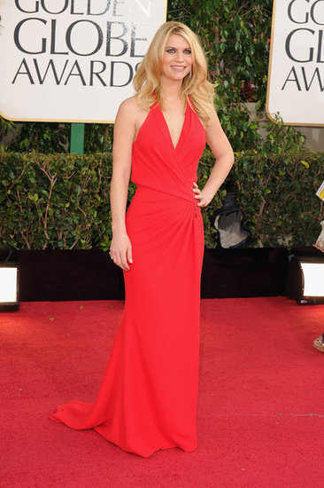 Best Red: Claire Danes in Versace.