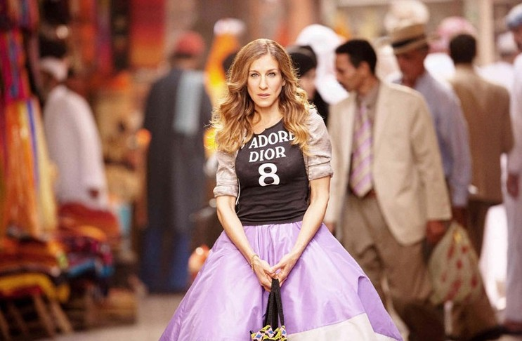 Carrie Bradshaw (Sarah Jessica Parker),  Sex and the City .