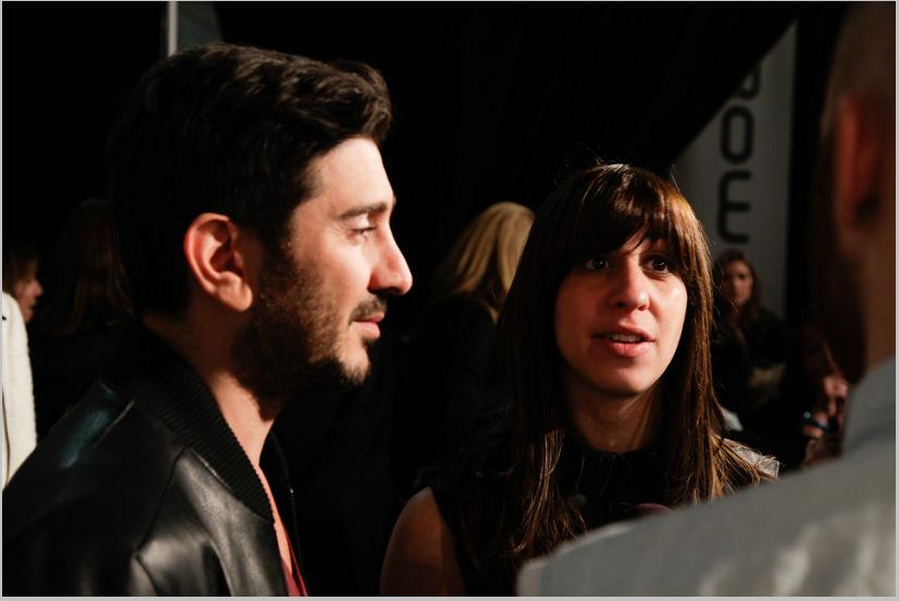 Co-creative directors Eran Elfassy & Elisa Dahan.