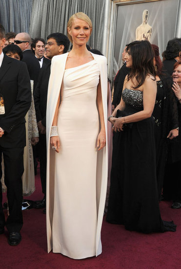 Gwyneth Paltrow in Tom Ford, Oscars 2012.