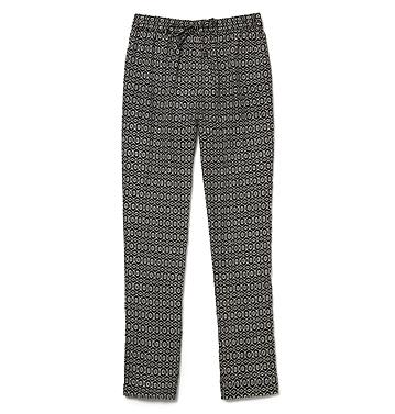 The same Joe Fresh  pants ($29) in a neutral colour way.
