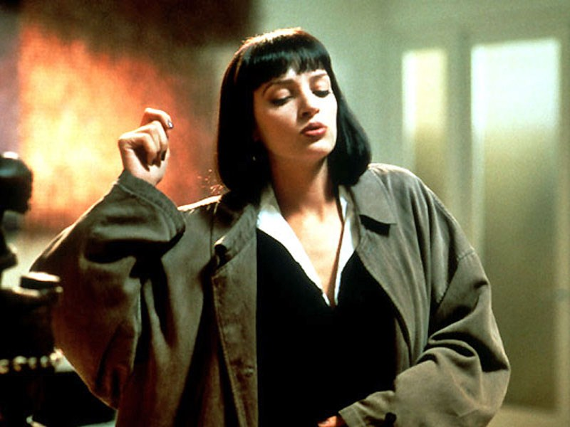 Uma Thurman,  Pulp Fiction .