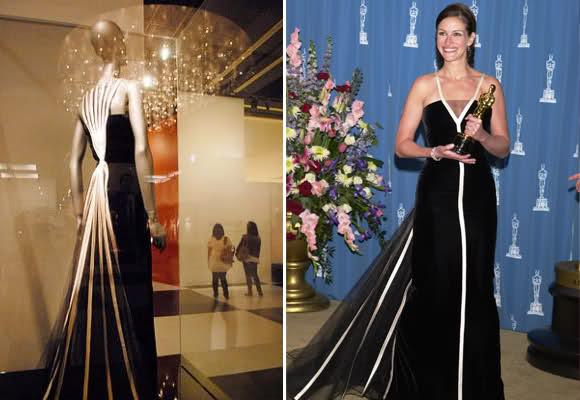 Julia Roberts in Valentino. Oscars 2001.