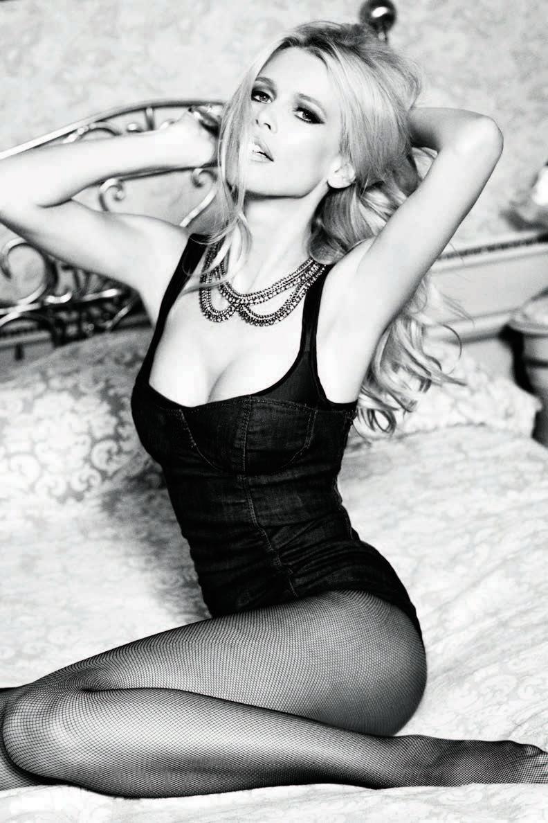 Claudia Schiffer, GUESS campaign.