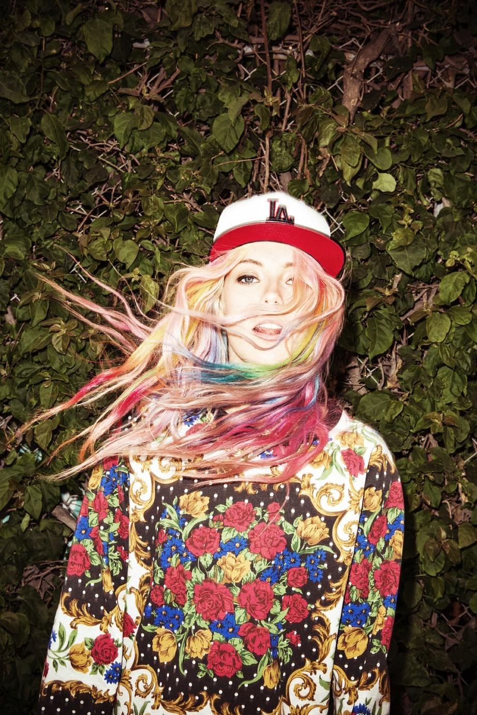 Chloe Norgaard, La La Land MINKPINK campaign.