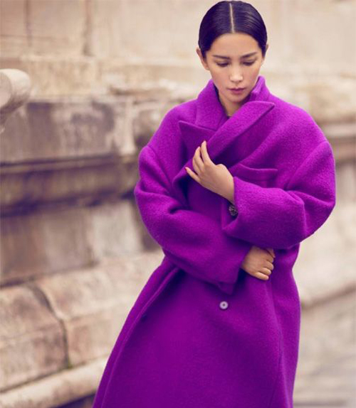 Photo: Li Bingbing by Chen Man, Vogue China.
