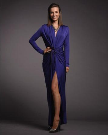 Greta Constantine gown.