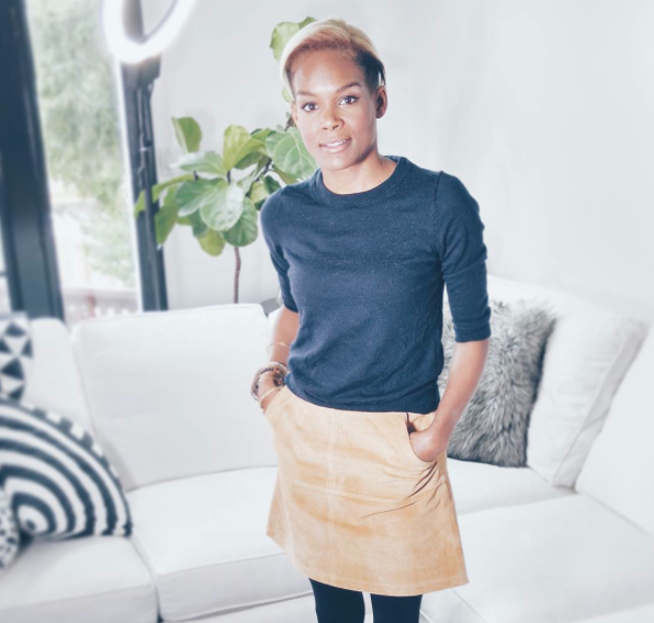 J. Crew sweater | Ever New skirt