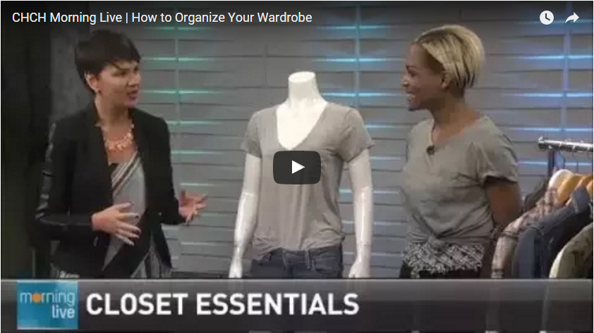 CHCH |How to Organize Your Wardrobe