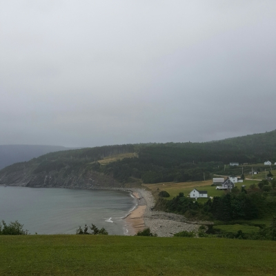 En route to Meat Cove – a strangely named yet beautiful and tucked away spot.