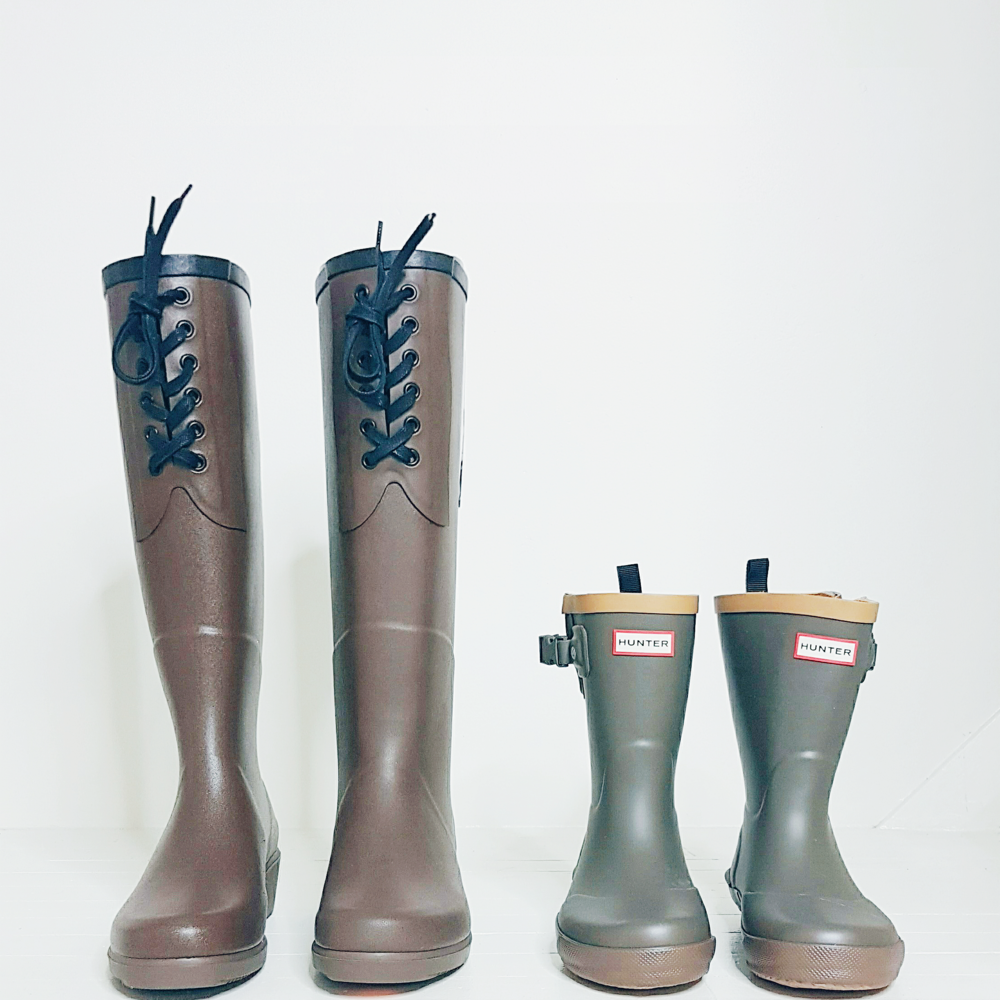 Aigle & Hunter Rainboots $60 |$40
