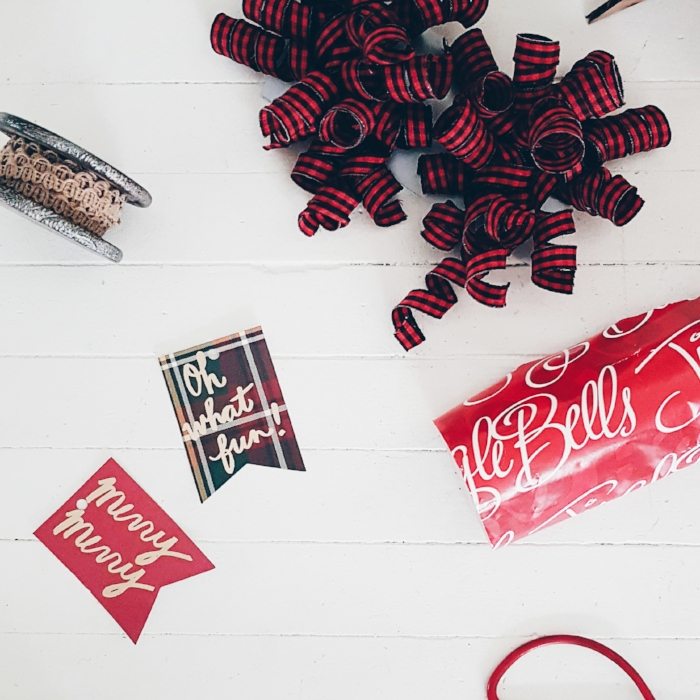 Coordinating wrapping is an easy way to take gift presentation to the next level. Bonus: Anything from  IndigoKids  can be gift wrapped for free!