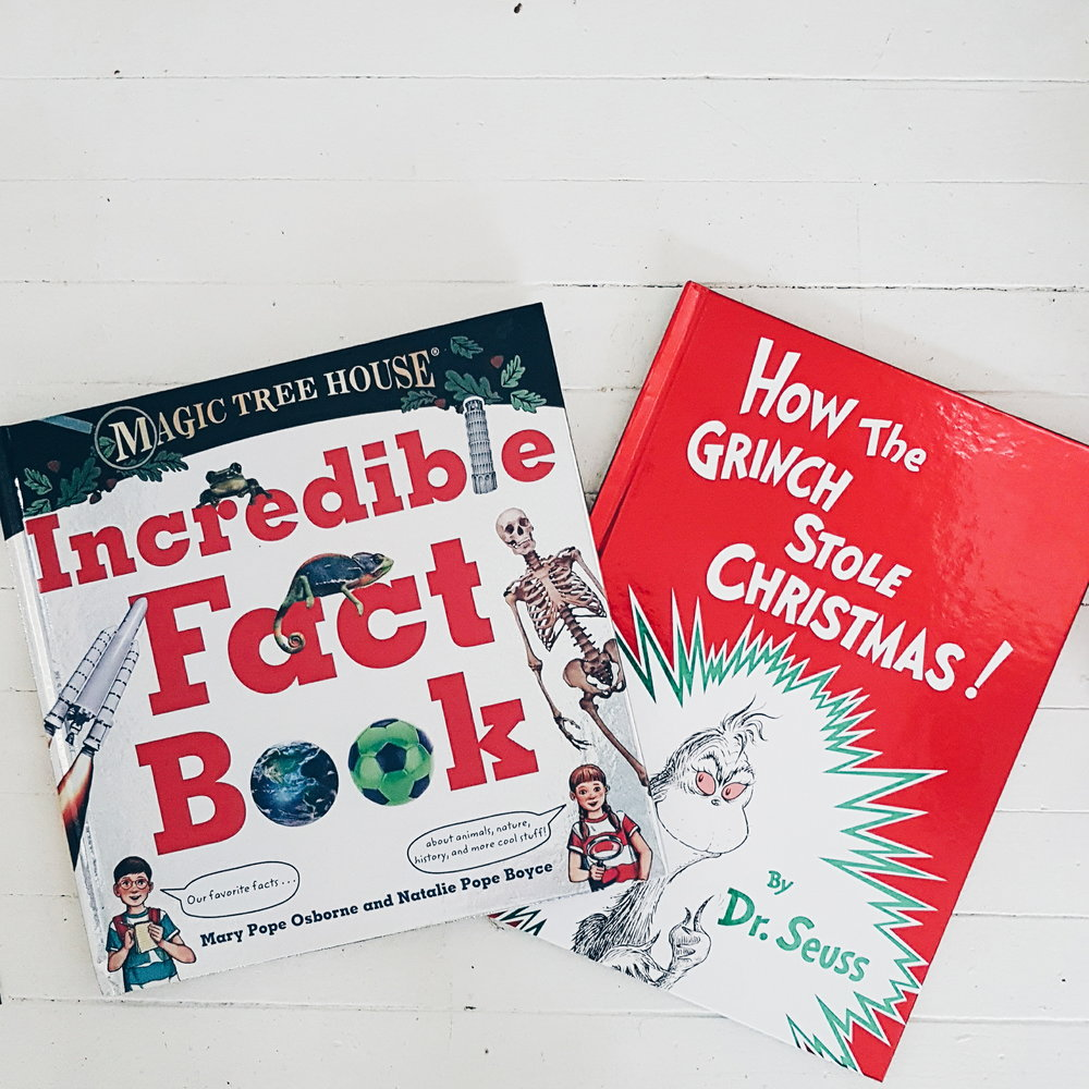 MAGIC TREE HOUSE INCREDIBLE FACT AND HOW THE GRINCH STOLE CHRISTMAS