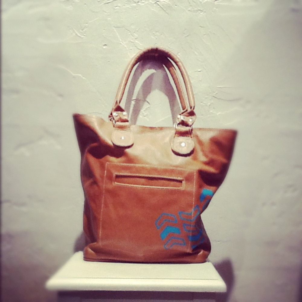 Stitch and Swash tote bag $150