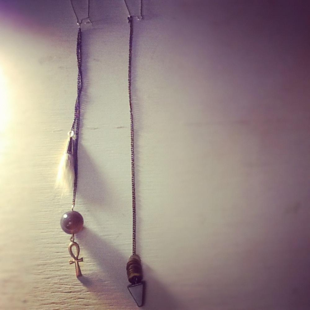 "&c. Jewelry ""The Life of Rain"" earrings $75"