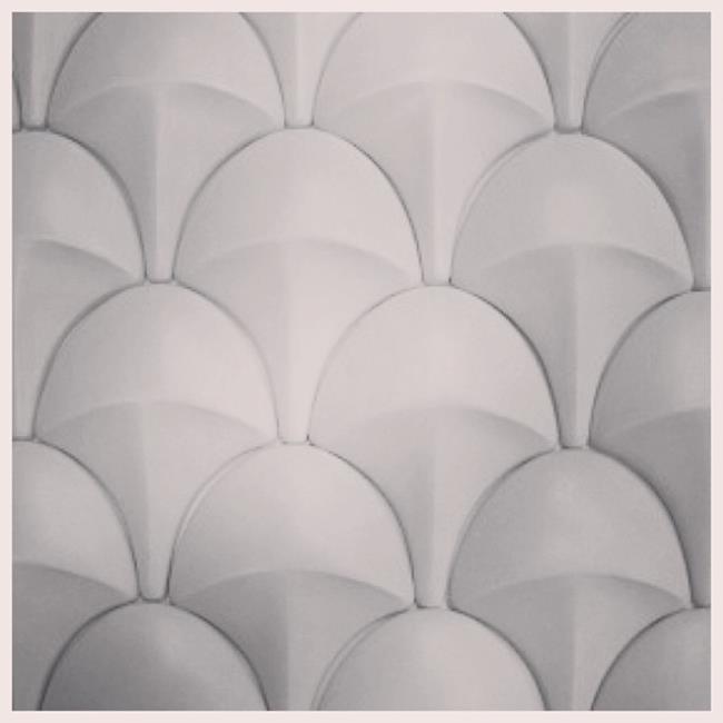 Custom tiles by Bultman Ceramics.
