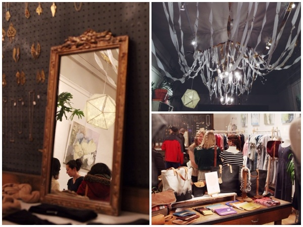 I spy some new views of the shop! Thanks to Anna Redmond for photographing the evening!