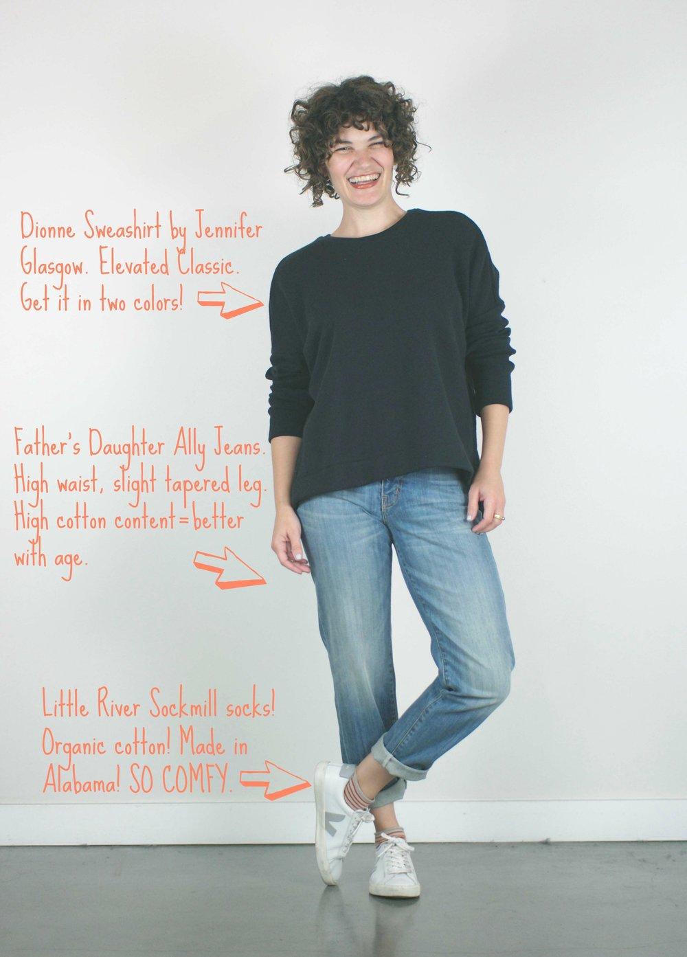 splash page fall 2018 ally jeans__ dionne sweatshirt _ little river sockmill .jp