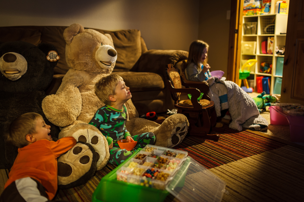 Snack packs are a success!  Well contained and kept them entertained while watching a movie.  Photos by  Marcus Edwards Photography