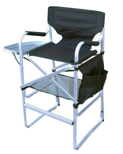 TUSCANY ALUMINUM MAKEUP CHAIR   Before I invested in this chair, I would use what ever chair was available to me in the photography studio, house, hotel room, etc. I'm sure some of you can relate... my back would kill me by the end of the day! This was the best investment for my body! Plus, super easy to assemble, light weight and has a carrying strap. It also has pockets attached, and a tray for to set product on or give your client some room to set their drink/phone on.