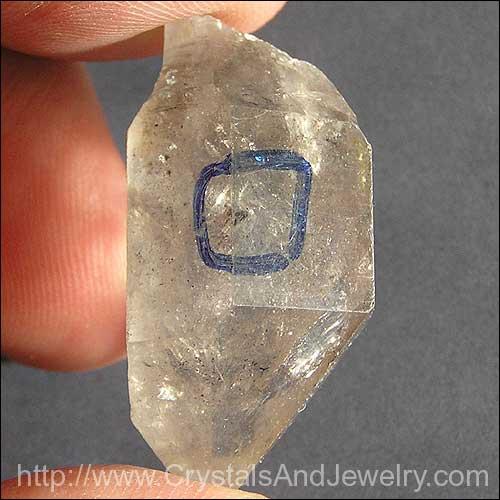 Enhydro Quartz Crystal Example
