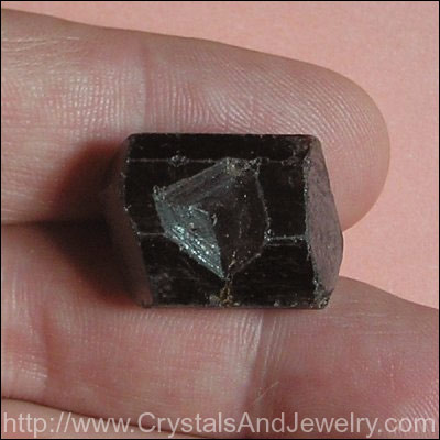 Example Key Crystal in Root Beer Dravite