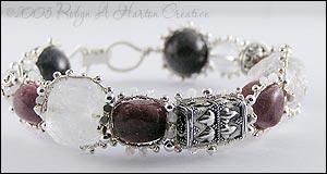 Muscovite (Pink Stones) Bracelet