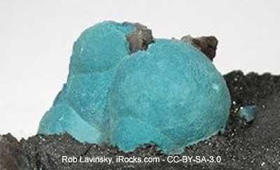 Plancheite Crystals