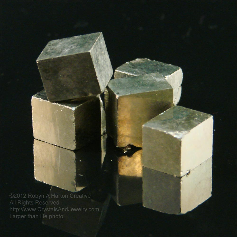 Spanish Cubic Pyrite