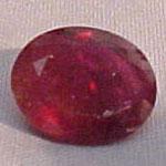 Faceted Myanmar (Burma) Ruby Example