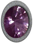 Faceted Purple Spinel Example