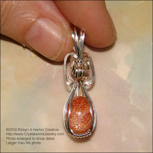Sunstone is used for protection.