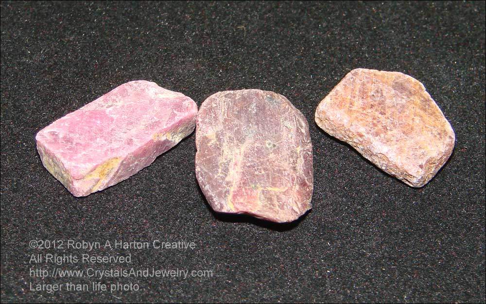 Ruby is a variety of corundum with a hardness of 9 on the Mohs scale.