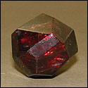 Garnet is a stone that is used in crystal healing for the brain.