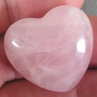 Rose quartz is an example of a heart chakra stone.