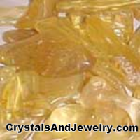 Amber has yellow color energy.
