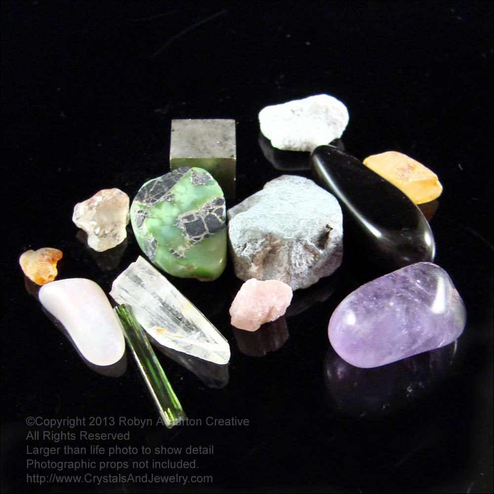 Mystical Crystals and Stones