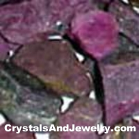 Faw Ruby Crystals Example