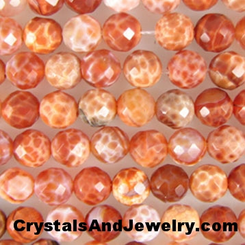 Crab Fire Agate aka Spiderweb Carnelian Example