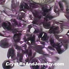 Faceted Amethyst Example