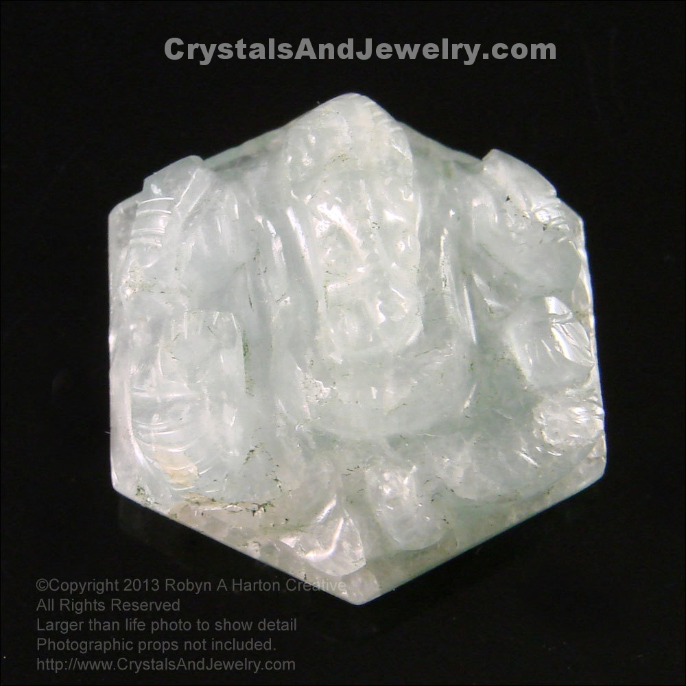 Aquamarine Carving Example